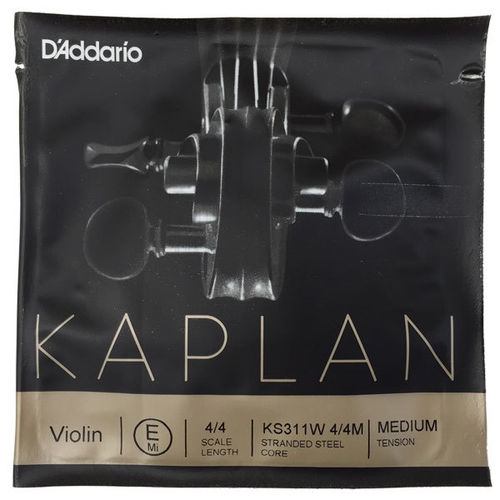 Corda MI (E string) Kaplan Solution pallino violino medium