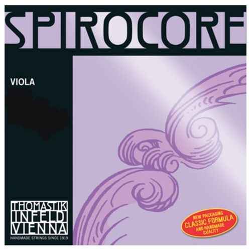 Viola Thomastik Spirocore corda DO tungsteno -Thomastiik Spirocore C string tungsten wound