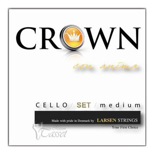 Violoncello Muta (set 4 strings) Crown Larsen Strings