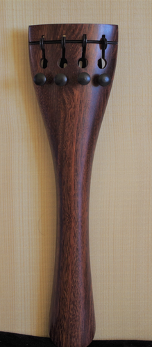 CORDIERA VIOLONCELLO M.TONDO PALISS.+TIRACANTINI -CELLO ROSEWOOD TAILPIECE ROUND M.+STRINGS ADJUSTER