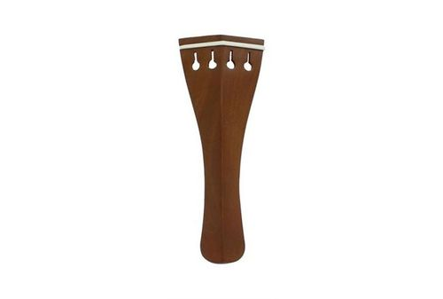 CORDIERA PER VIOLINO HILL BOSSO FILETTO AVORINA mm 108-HILL VIOLIN TAILPIECE BOXWOOD BONE FRET 108