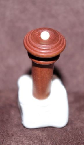 BOTTONE VIOLINO M. SEMI HILL BOSSO PALLINO AVORIO-VIOLIN END BUTTON SEMI HILL BOXWOOD BONE BALL
